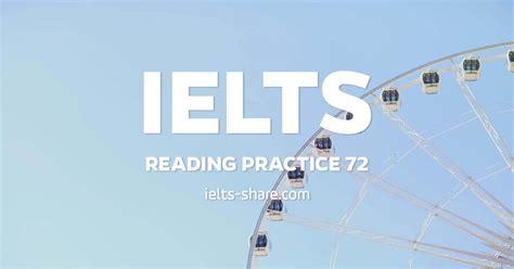 ielts reading practice 72 ielts