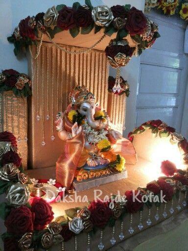 Garden Decoration For Ganpati by Ganpati Decoration 2014 Www Handmade Floral