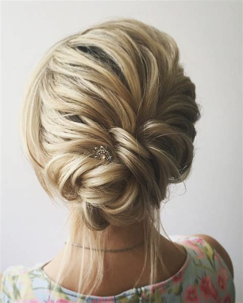 Work Hairstyles Updos by 54 Simple Updos Wedding Hairstyles For Brides Koees