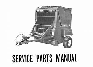 Gehl 1865 Variable Chamber Round Baler Service Parts