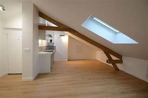 Appartement Sous Comble : r novation compl te d 39 un appartement sous comble vincennes ~ Dallasstarsshop.com Idées de Décoration