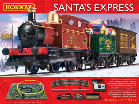 corgi r1179 hornby santa s express train set website and