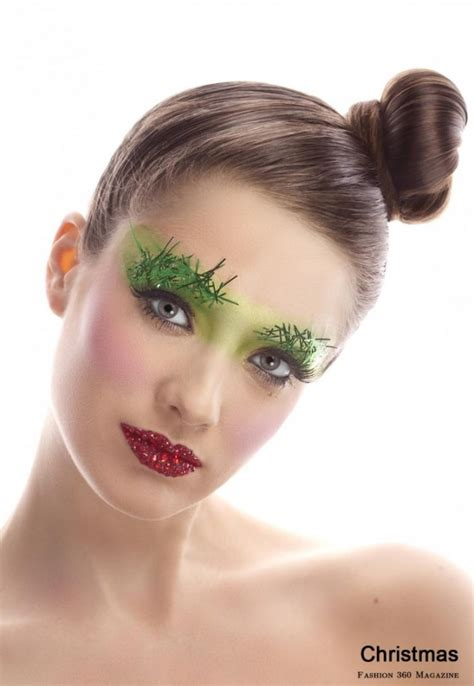 adorable christmas makeup ideas