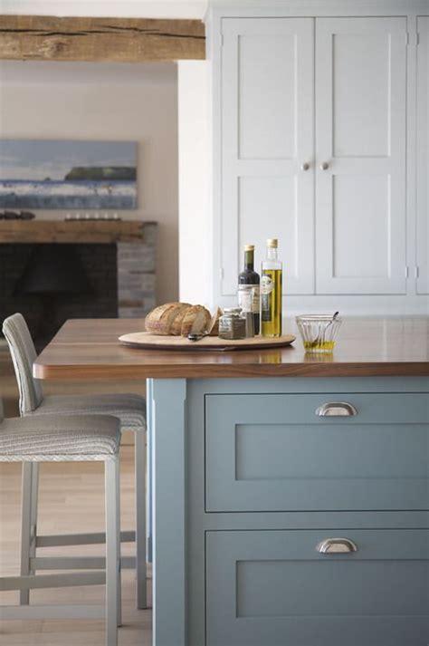 Painting Kitchen Cupboards Farrow And by Farrow Paint Berrington Blue Walnut Island Top