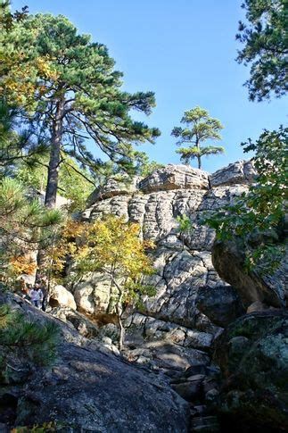 Oklahoma Robbers Cave State Park