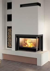 Cheminée Contemporaine Foyer Fermé : cheminees contemporaines tous les fournisseurs cheminee design cheminee moderne cheminee ~ Melissatoandfro.com Idées de Décoration