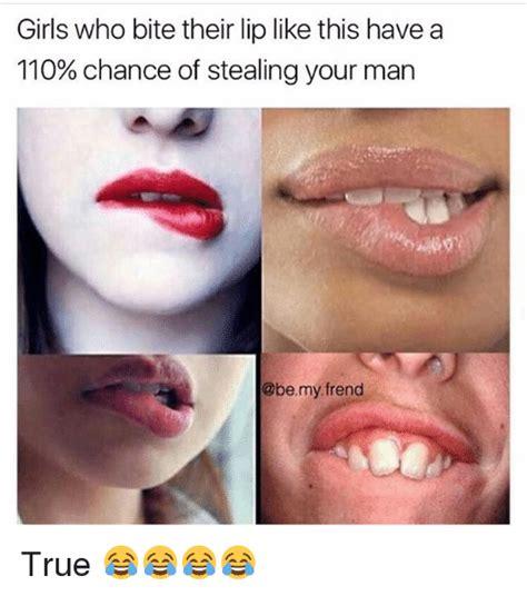 Biting Lip Meme - funny bite memes of 2017 on sizzle meal