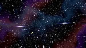 Space Warp Speed Hyperspace Journey Through Starfield ...