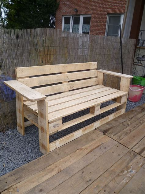 outdoor pallet bench woodworking pallet chair pallet