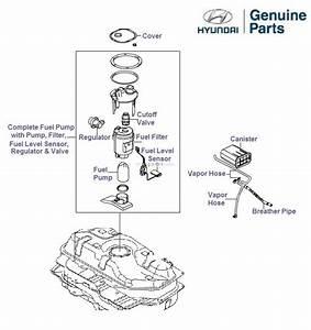 Hyundai Getz 1 3 Petrol  Fuel Pump