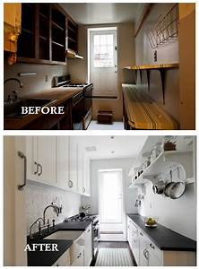 small galley kitchen remodel before and after home With kitchen design photos before and after