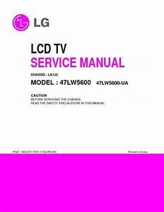 Lg 47lw5600  Chassis La12c  Service Manual  U2014 View Online
