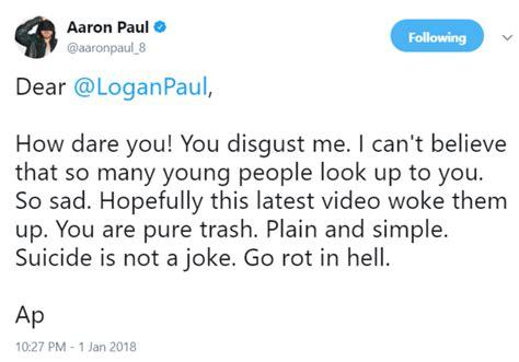 aaron paul and logan paul logan paul know your meme