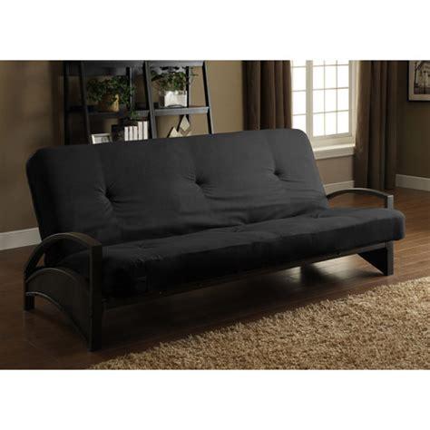 futon beds at walmart alessa futon frame with 6 quot futon mattress walmart