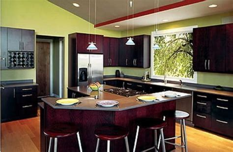 kitchen with green walls green kitchen walls with cabinets design bookmark 6516