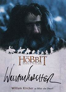 The Hobbit: The Battle of the Five Armies (Cryptozoic) - Topic