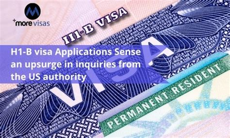 H1-b Visa Applications Sees An Upsurge In Inquiries From