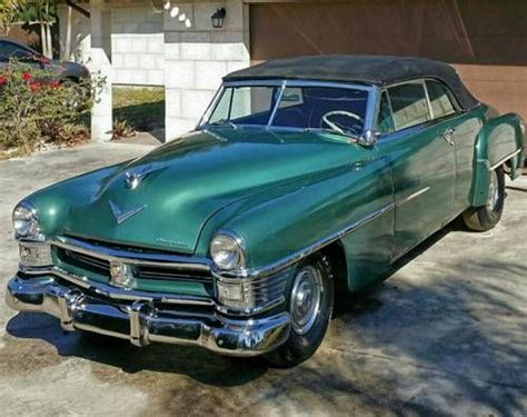 1952 Chrysler New Yorker by Chrysler New Yorker 2dr Convertible For Sale 1952