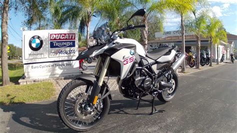 2013 Bmw F800gs In White At Euro Cycles Of Tampa Bay