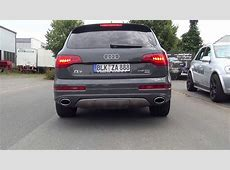 Sound! Audi Q7 V12 TDI Sportauspuff Sound by mariani Car