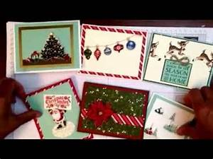 Easy Handmade Christmas Cards with a Vintage Look