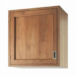 Meuble Cuisine Bois Brut : cuisine meubles haut de cuisine bois conception de maison ~ Dailycaller-alerts.com Idées de Décoration