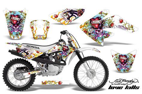Honda Crf80 Crf100 Graphic Kits 2004-2010