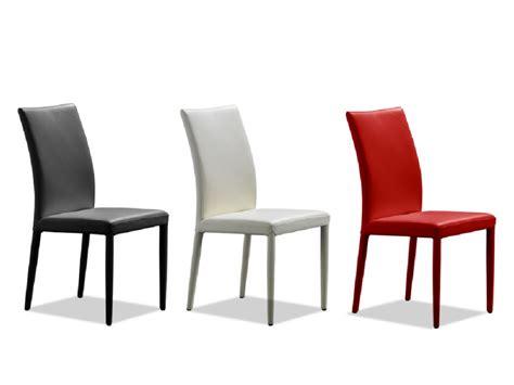 lot de  chaises en cuir de vachette atalante  coloris