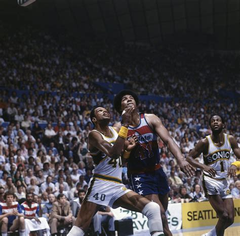washington nba wes unseld finals webster marvin bullets 1978 basketball seattle supersonics wizards players game wa play getty action vs