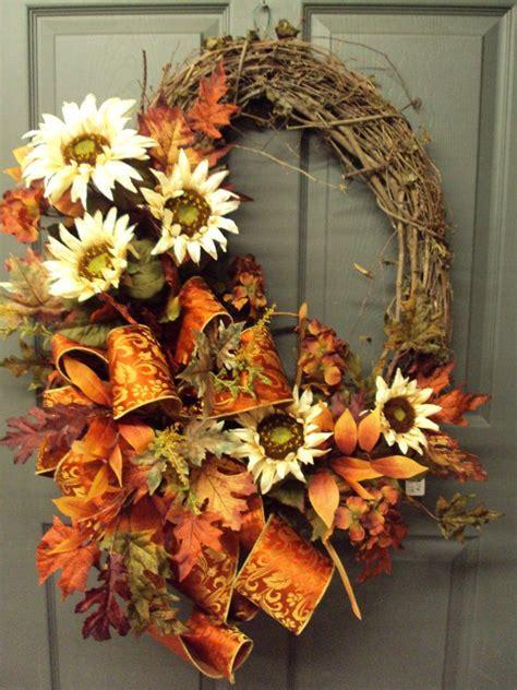top   thanksgiving wreaths ideas  pinterest