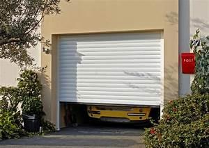 Porte De Garage A Enroulement : les portes de garage enroulement comptoir des bois ~ Dailycaller-alerts.com Idées de Décoration