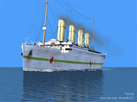 Sinking Of The Britannic by Hmhs Britannic Atlantic Liners