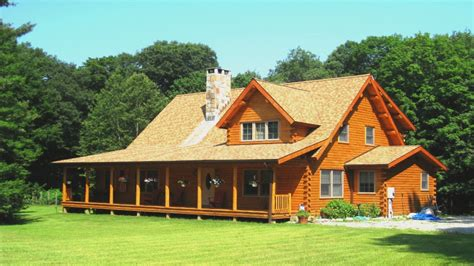 log cabin house plans  open floor plan log cabin home