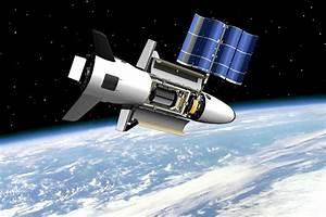 U.s. Air Force's X 37b Space Plane In Orbit : Wallpapers13.com