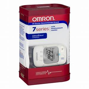 Omron 7 Series Wrist Blood Pressure Monitor Heart Guide