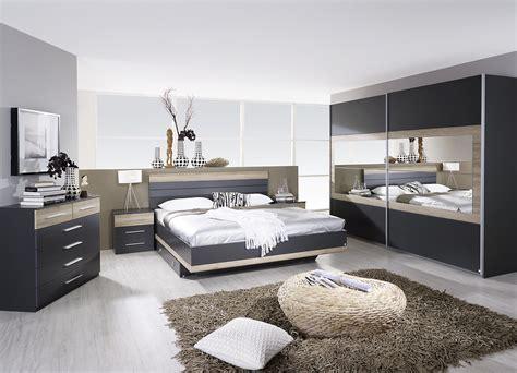 chambre adulte contemporaine chambre adulte complète contemporaine grise chêne clair