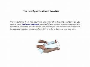The Heel Spur Treatment Exercises