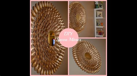 See more ideas about dollar tree mirrors, dollar store diy, dollar tree diy. DIY Spoon Mirror Wall Decor - YouTube