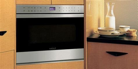 wolf  transitional drawer microwave oven mdtes
