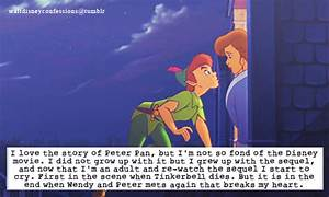 """""""I love the story of Peter Pan, but I'm not so fond of the ..."""