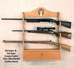 Free Gun Rack Plans - How to Build A Gun Rack Misc