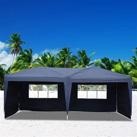 zimtown    waterproof outdoor garden gazebo pop  party tent wedding canopy walmart