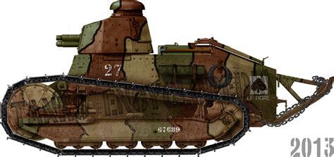 french renault tank renault ft tank encyclopedia