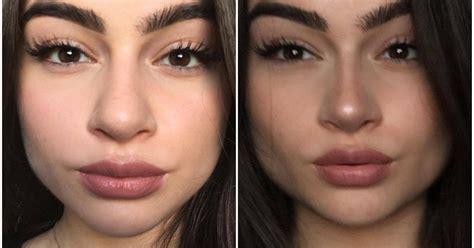 nose shapes     contour