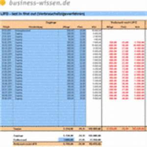 Excel Tabelle Summe Berechnen : lagerbestand nach lifo methode berechnen excel tabelle business ~ Themetempest.com Abrechnung
