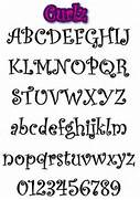 Type Of Letters Writing Different Font Styles Alphabet Curlz Style Graffiti