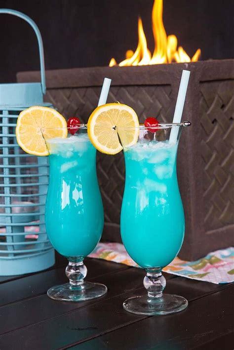 blue lagoon cocktail drink  kitchen magpie