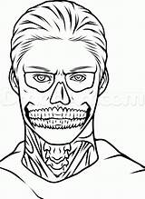 Drawing Peters Evan Horror Draw Ahs Drawings Tate Step Sheets Coloring Colouring Tutorial Dragoart sketch template