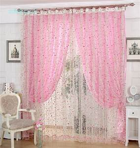 Pink curtains for bedroom curtain menzilperdenet for Curtains for bedroom windows with designs 2015