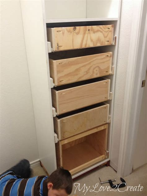 Closet Tower With Drawers by Drawers And Drawer Slides Master Closet Makeover My